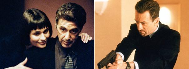 Al Pacino e Robert De Niro em 'Fogo Contra Fogo' (Foto: Divulgação)