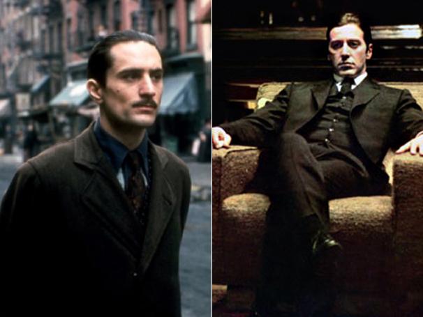 Onde a parceria começou: Robert De Niro e Al Pacino em 'O Poderoso Chefão - Parte II' (Foto: Divulgação)