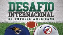 Desafio internacional de futebol americano (Foto: Divulgação/RPC TV)