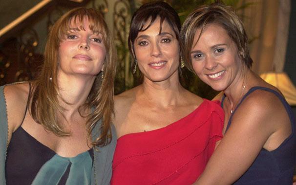Helena (Christiane Torloni), Hilda (Maria Padilha) e Heloísa (Giulia Gam), personagens de Mulheres Apaixonadas (Foto: Divulgação/ TV Globo)