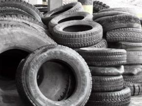 Globo Ecologia: como se livrar dos residuos industriais como os pneus e catalisadores de carros (Foto: Reprodução de TV)