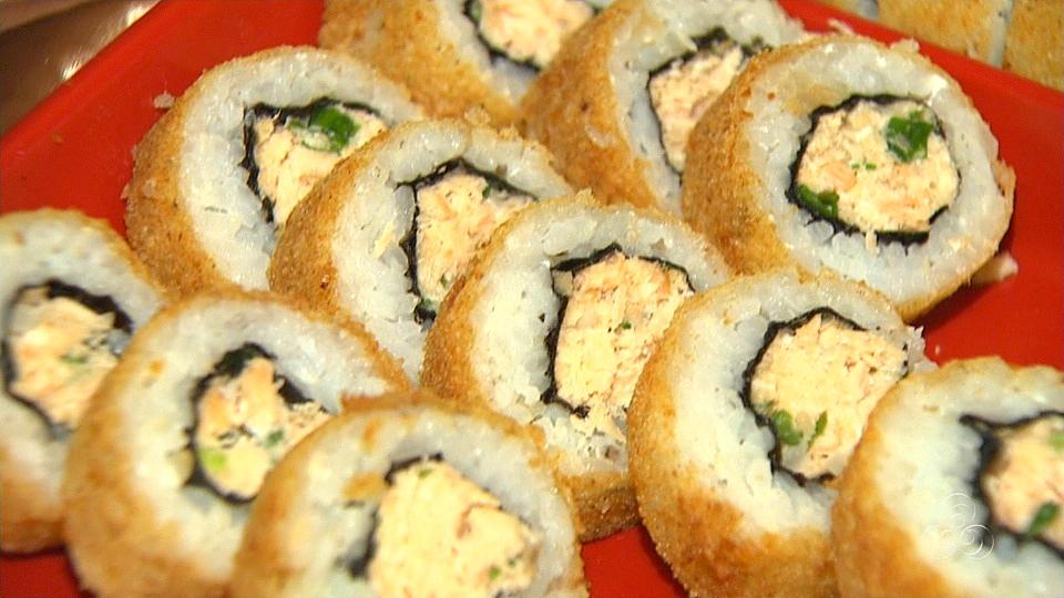O sushi hot philadélfia é um dos preferidos dos manauaras (Foto: Jornal do Amazonas)