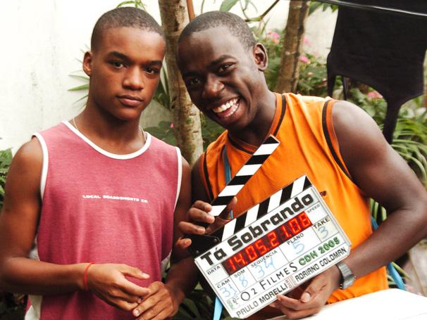 Darlan Cunha e Douglas Silva protagonizaram a série 'Cidade dos Homens', após sucesso do filme 'Cidade de Deus' (Foto: João Miguel Jr./ TV Globo)