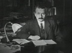 Globo Ciência: Albert Einstein (Foto: Reprodução de TV)