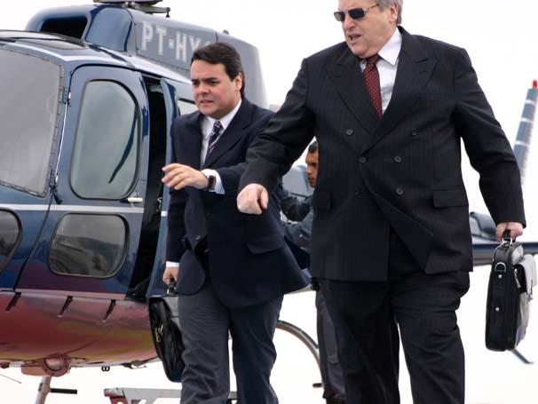 Fulvio Stefanini interpreta um banqueiro no filme 'Caixa Dois' (Foto: Divulgação)