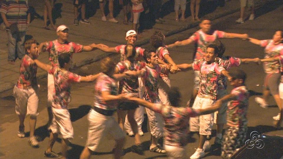 Ensaio da Vitória-Regia (Foto: Amazônia TV)