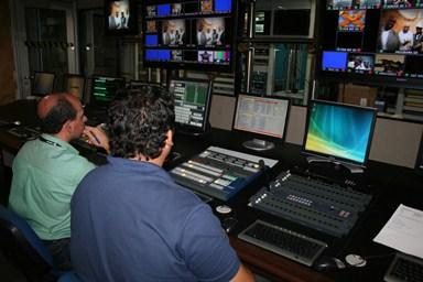 Trnasmissão HDTV Tv Sergipe (Foto: Arquivo)