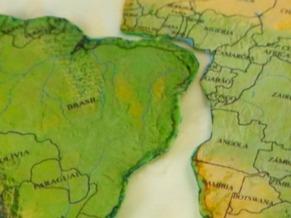 Brasil e África (Foto: Reprodução de TV)