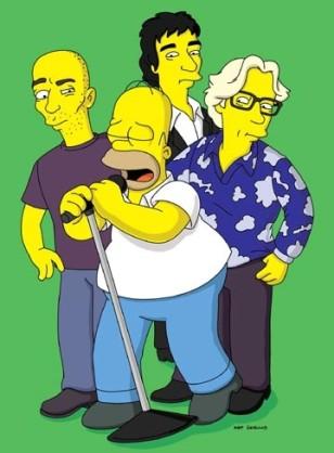 Os Simpsons - R.E.M. é atração do bar de Homer (Foto: Divulgação)