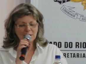Maria de Guadalupe Lima, coordenadora adjunta de Gestão de Aprendizagem, Rio Grande do Sul  (Foto: Patricia Coelho)