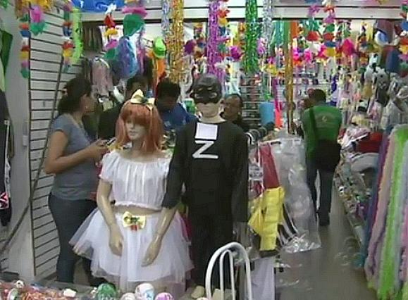 Fantasias de carnaval (Foto: Bom dia Amazônia)