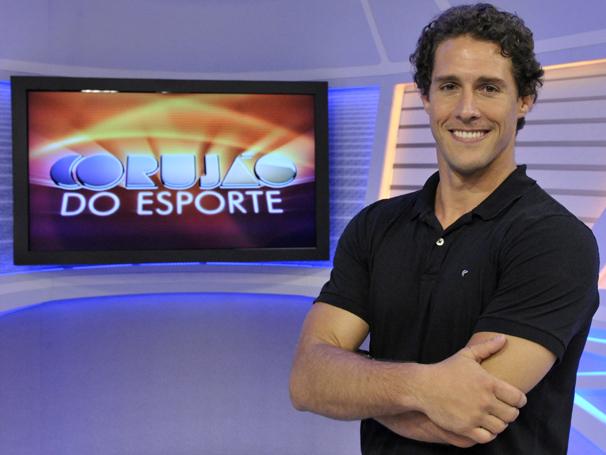 Flávio Canto é o novo apresentador do Corujão do Esporte (Foto: Divulgação TV Globo/ João Cotta)