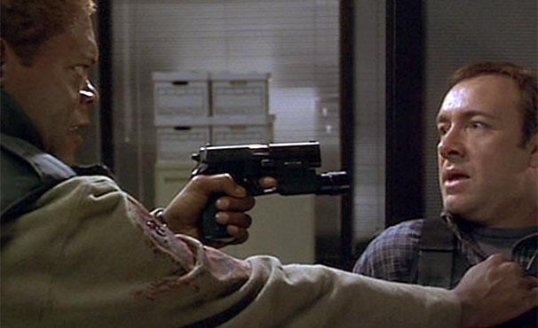 Samuel L. Jackson e Kevin Spencer se enfrentam em filme de ação  (Foto: Divulgação)