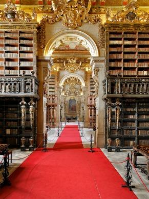 Biblioteca Joanina (Foto: Divulgação)
