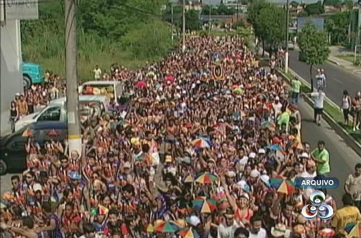 A Banda do Galo reúne aproximadamente 30 mil foliões (Foto: Reprodução /TV Amazonas)