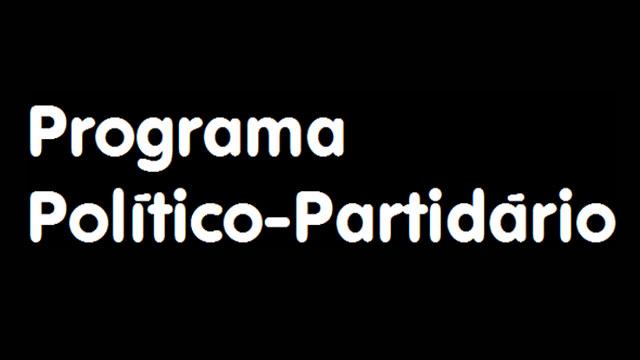 Programa Político-Partidário