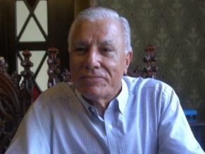 Antonio Gomes da Costa Presidente Real Gabinete Português de Leitura (Foto: Reprodução de Tv)