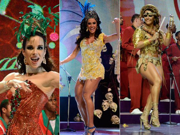 Musas do Carnaval 2012 (Foto: TV Globo / Raphael Dias)