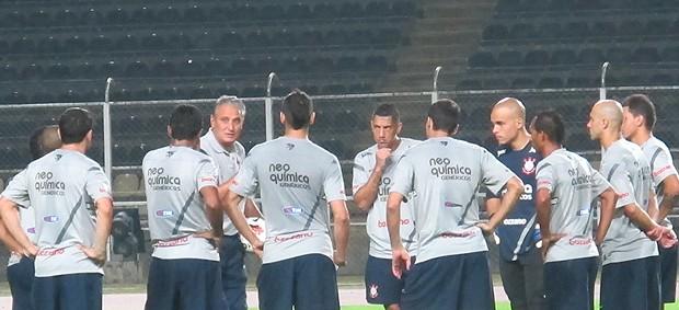 Corinthians se prepara para enfrentar Deportivo Táchira pela Taça Libertadores (Foto: Carlos Augusto Ferrari / Globoesporte.com )