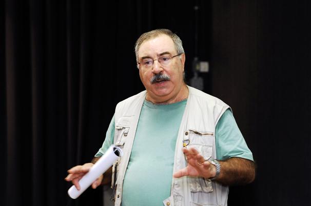 O professor é coordenador do Programa de Pós-Graduação em Comunicação da universidade (Foto: Cíntia Paiva)