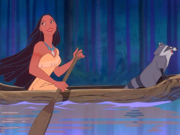 Pocahontas é uma índia do Novo Mundo que está prestes a se apaixonar por um inglês (Foto: Divulgação / Disney)