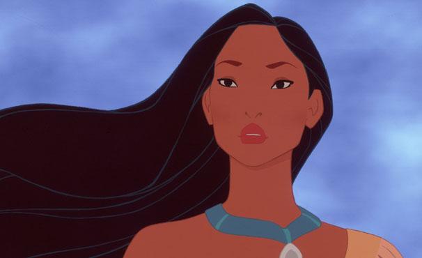 Pocahontas é a atração da TV Globinho deste sábado  (Foto: Divulgação / Disney)