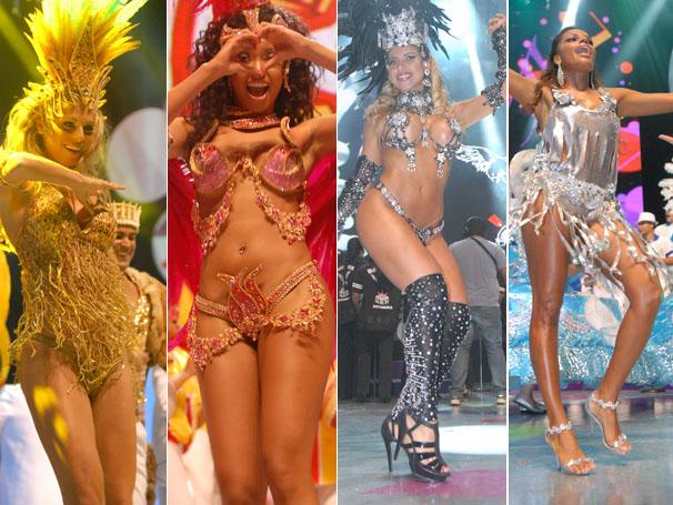 Musas do Carnaval paulistano (Foto: TV Globo / Zé Paulo Cardeal)