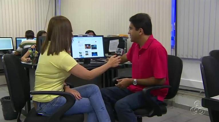 Portal Rede Amazônica (Foto: Amazônia TV)