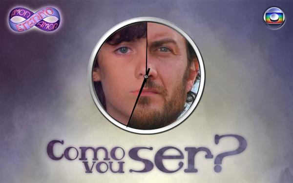 """Tela do aplicativo """"Como eu vou ser?"""", para Facebook (Foto: Divulgação / TV Globo)"""