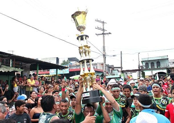 Reino Unido campeão do carnaval 2012, em Manaus-AM. (Foto: g1amazonas)