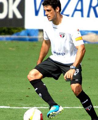 São Paulo tem Fabrício no jogo contra Bragantino (Foto: Anderson Rodrigues / Globoesporte.com)