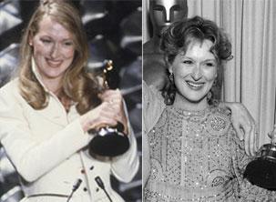 Meryl Streep venceu duas vezes como melhor atriz e melhor atriz coadjuvante (Foto: Reprodução/ Academy Awards)