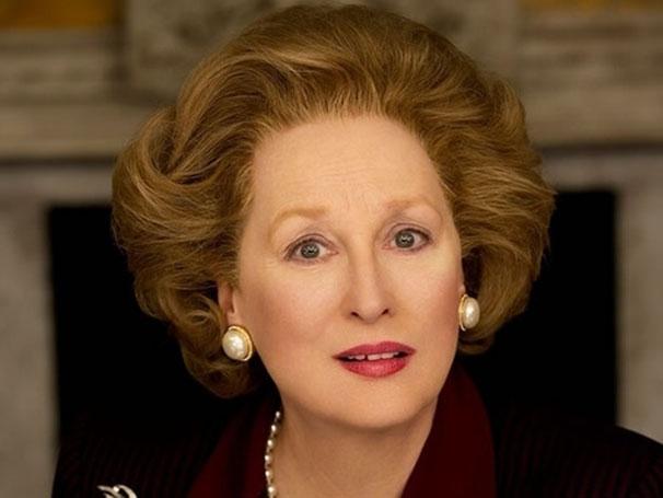 Recordista no Oscar, Meryl Streep foi indicada por 'A Dama de Ferro' (Foto: Divulgação / Reprodução)
