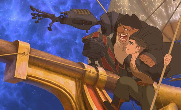 Jim embarca numa aventura em busca de um tesouro (Foto: Divulgação / Disney)