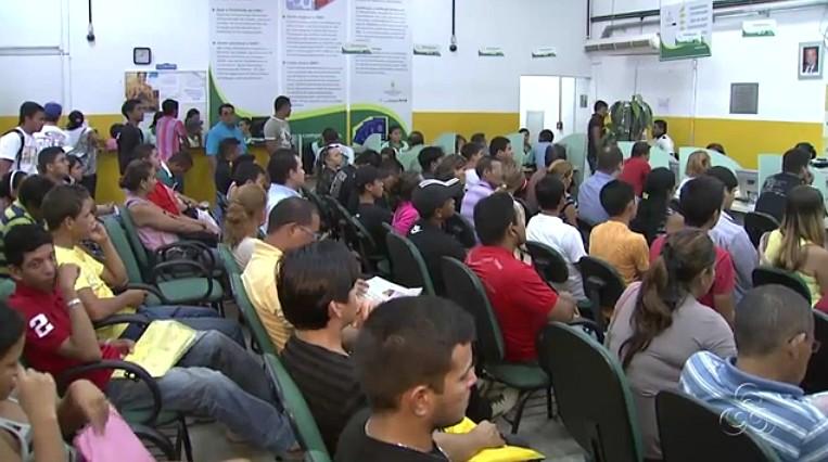 Poucas vagas disponíveis hoje para atender a demanda (Foto: Amazônia TV)