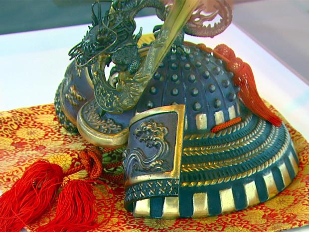Exposição conta com objetos da cultura japonesa, em São Carlos (Foto: Reprodução)