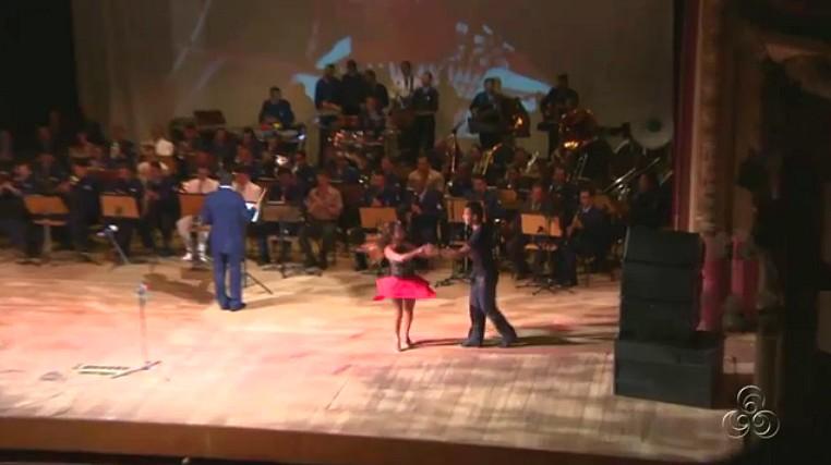 Concerto pelo aniversário do 7º COMAR (Foto: Bom dia Amazônia)