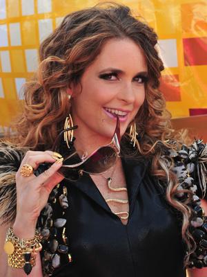 Cláudia Abreu na pele de Chayene, considerada a rainha do forró (Foto: João Miguel Jr./ TV Globo)