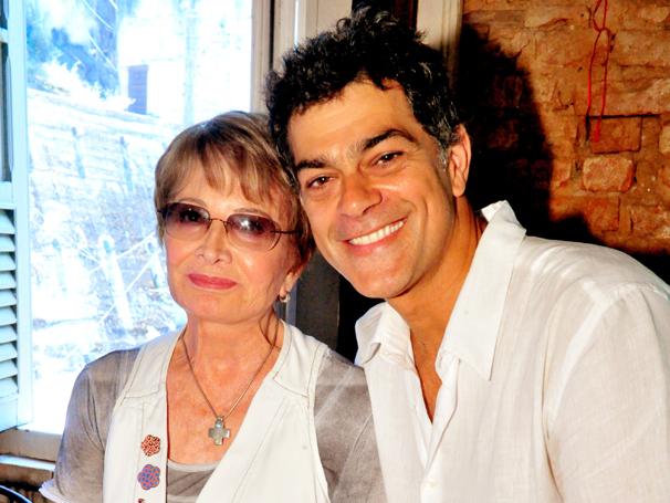 Eduardo Moscovis e Glória Menezes (Foto: TV Globo/ João Miguel Júnior)
