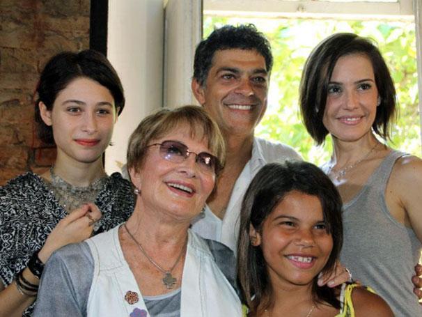 Elenco de Louco Por Elas se reune em evento no Rio de Janeiro (Foto: Divulgação / TV Globo)