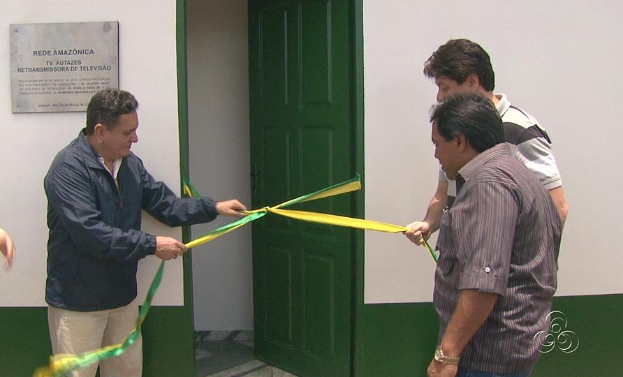 A inauguração marca a presença do município de Autazes na grande de programação da TV Amazonas (Foto: Jornal do Amazonas)