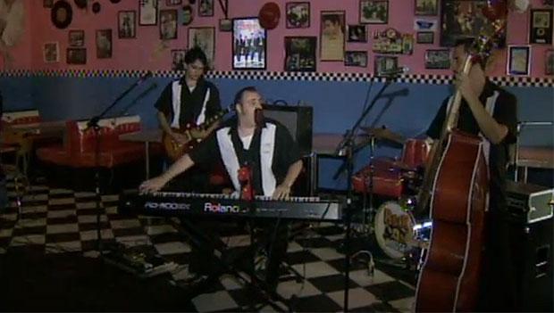 Banda Rock House é destaque no quadro 'Em Cena' (Foto: Reprodução)