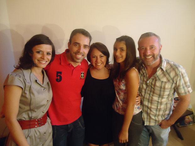 Lançamento Amor Eterno Amor em Curitiba - Grupo de Teatro Regina Vogue (Foto: Divulgação/RPC TV)