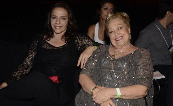 Rosi Campos e Suely Franco também estiveram no evento de lançamento (Foto: TV Globo / Bob Paulino)