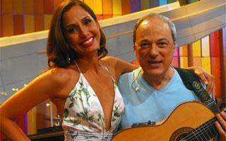 Camila Pitanga retoma o Som Brasil (Foto: Divulgação / TV Globo)