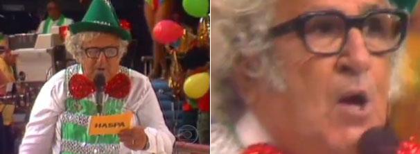 Chacrinha se tornou um personagem na televisão brasileira (Foto: Divulgação / Reprodução)