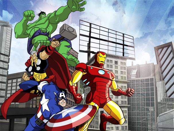 Os Vingadores - Super-heróis se unem para combater o mal (Foto: Divulgação / Disney)