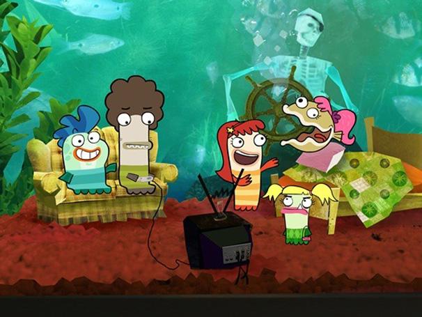 Fish Hooks - Amigos vivem em um aquário gigante e enfrentam problemas nada comuns (Foto: Divulgação / Disney)