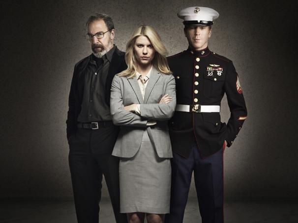 Homeland - Claire Daines foi premiada pela série que tem ainda Mandy Patinkin e Damian Lewis (Foto: Divulgação / Twentieth Century Fox)