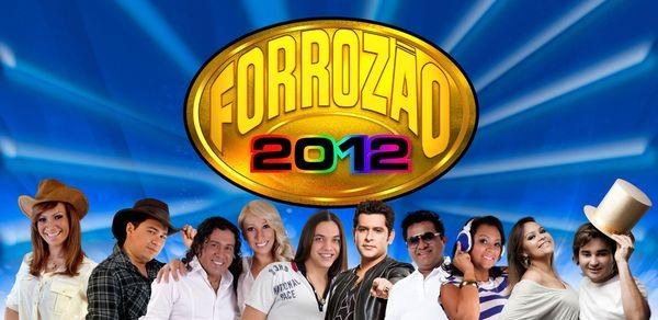 Forrozão 2012 (Foto: Arte/TV Sergipe)